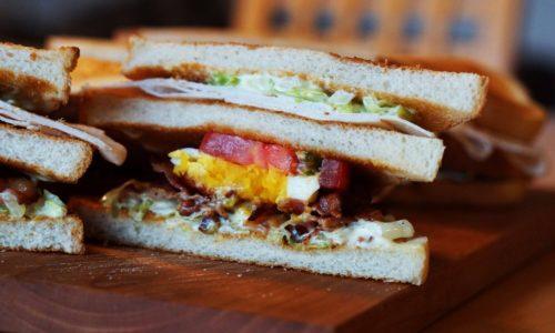 肉サンドイッチ